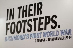 In Their Footsteps exhibition at Orleans House Gallery 2014