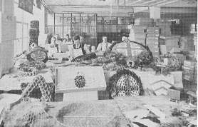 Wreath Making at the Poppy Factory - Image Courtesy of the Richmond Local Studies and Archive