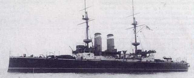 HMS_Russell_(1901)_on_trials_1902