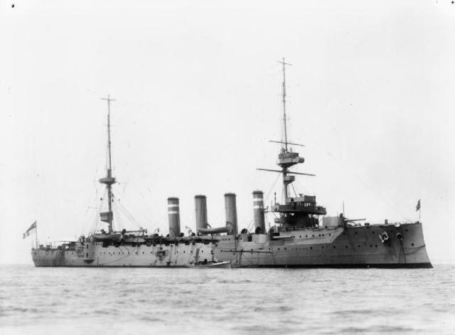 HMS_Hampshire_(1903)
