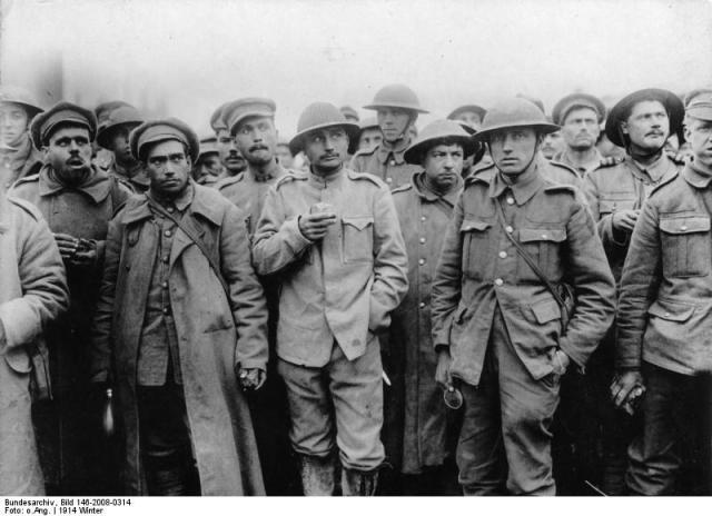 Frankreich, portugiesische und britische Gefangene